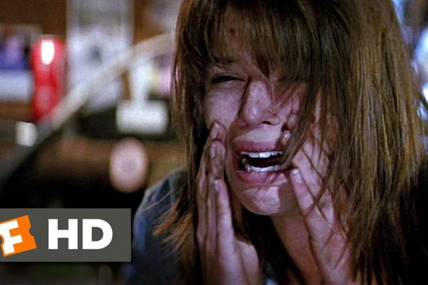 Scream (1996) - Look Behind You! Scene (9/12) - Movieclips