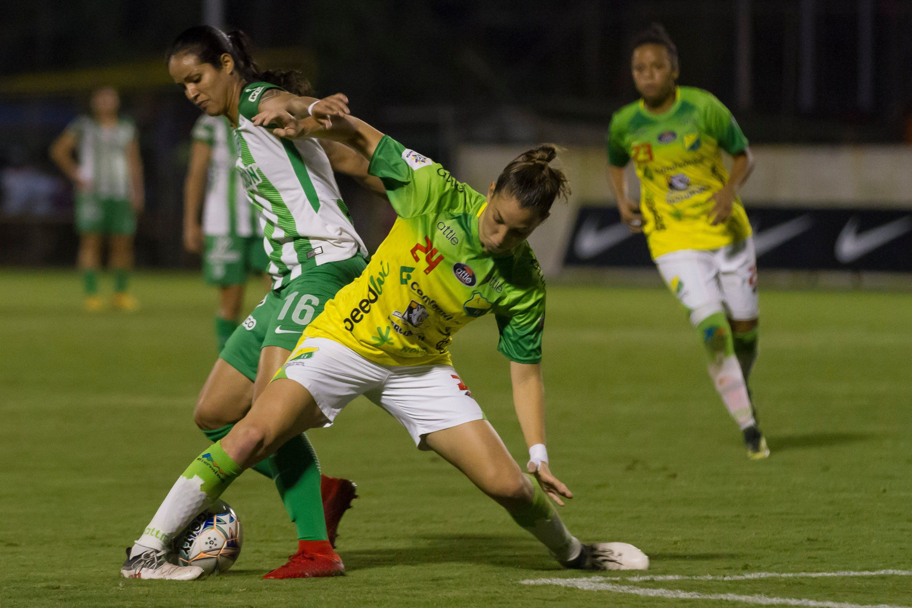 Resultado de imagen de women football colombian league