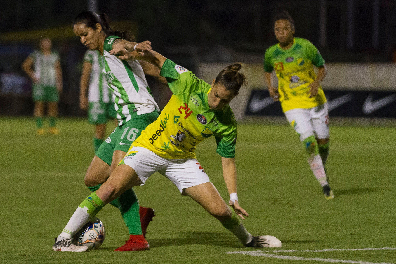 Resultado de imagen de women football colombian league