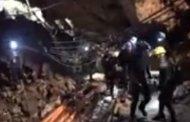 Publican vídeo de la operación rescate de los niños atrapados en la cueva en Tailandia