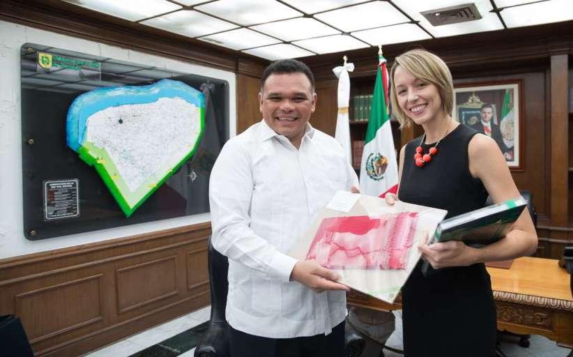 Fructífera relación entre Yucatán y Estados Unidos