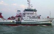 """El buque """"Dr. Jorge Carranza Fraser"""" evaluará los recursos pesqueros"""