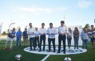 Histórica remodelación en las instalaciones del campo deportivo Benito Juárez