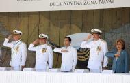Ratifica Gobernador compromiso de mantener colaboración  con autoridades federales, militares y navales