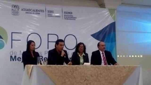 Yucatán da a conocer logros en mejora regulatoria