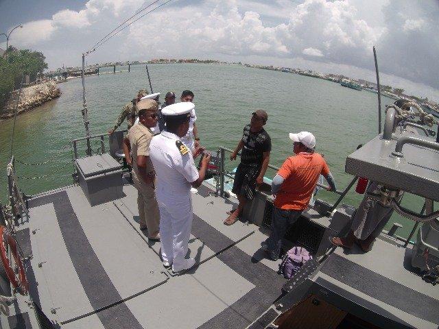 """Retención precautoria de una embarcación menor de nombre """"YOMIRA JARET-7"""""""