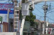 Dan mantenimiento a la red eléctrica