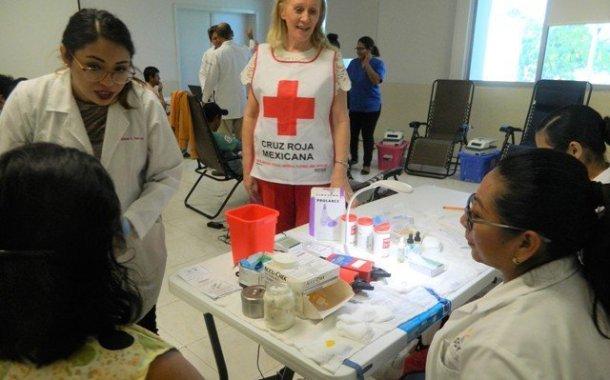 Buena afluencia de donadores de sangre la segunda jornada