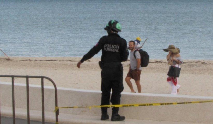 Más gente en la playa