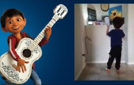 Niño le canta 'Recuérdame' de Coco a su hermana menor fallecida