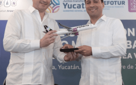 Nueva ruta aérea Mérida - Bajío