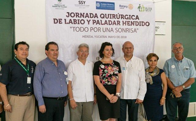 Jornadas Quirúrgicas de Labio  y Paladar Hendido, referente en el sureste