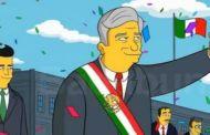 Predicción de los Simpson el triunfo de AMLO
