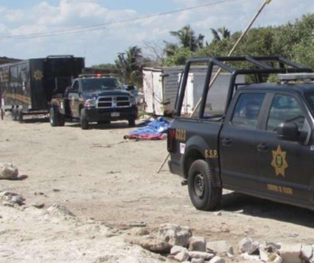 Vigilancia policíaca en toda La Caleta
