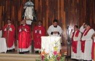 Erigen parroquia ante cientos de fieles en Progreso