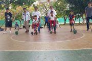 Niños yucatecos se divierten para mantener vigentes sus raíces
