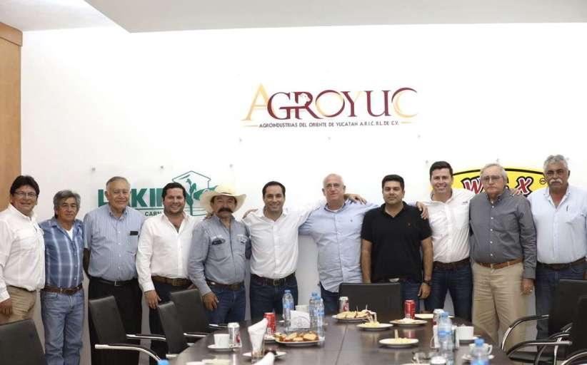 Gobierno y sector ganadero, juntos por el crecimiento de la agroindustria