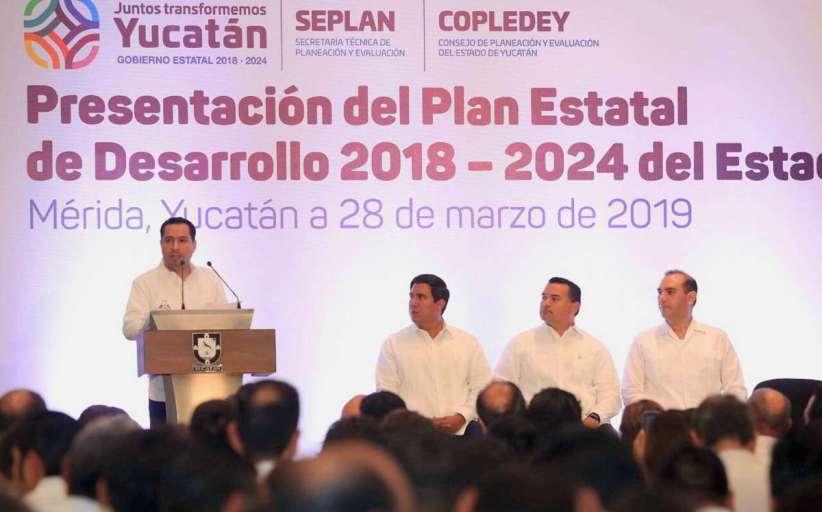 Plan Estatal de Desarrollo, disponible en lengua maya