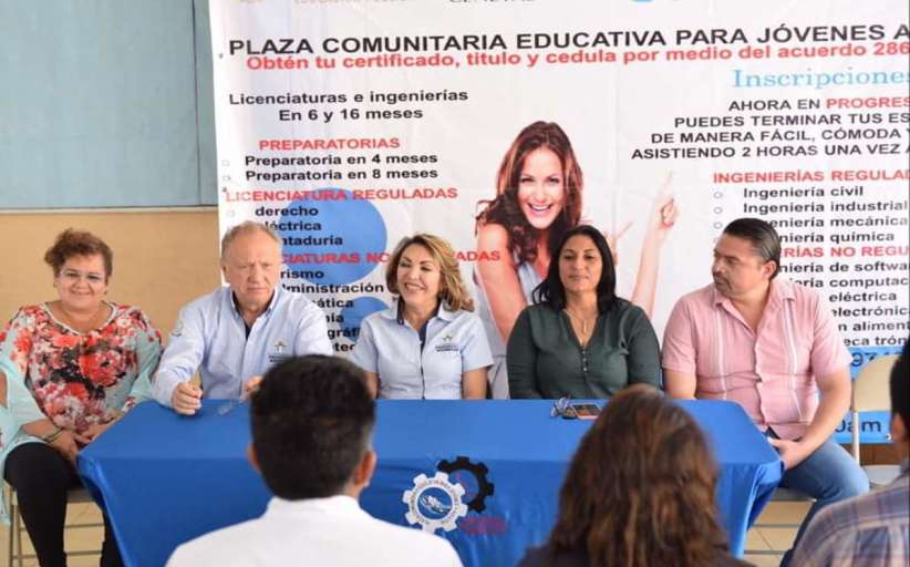 Plaza Educativa Comunitaria en Progreso