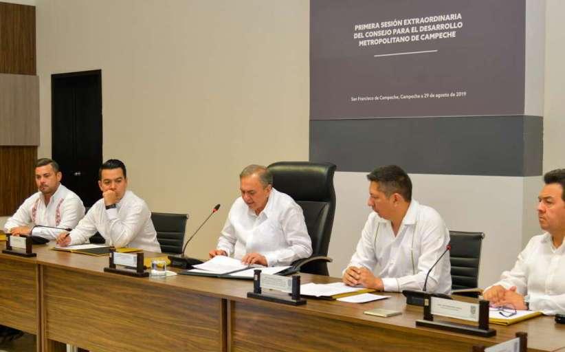 Sesión extraordinaria del Consejo para el Desarrollo Metropolitano