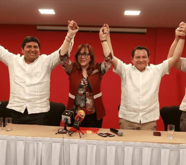Joaquin Díaz, candidato a gobernador por Morena