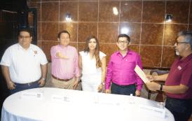 Joaquín Díaz Mena candidato de Morena, PES y PT rindió protesta