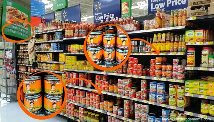 Los productos La Morena los encuentras en tu tienda Walmart de preferencia
