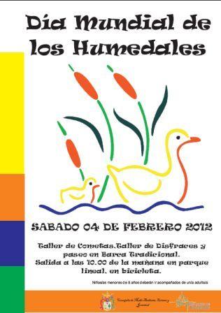ACTIVIDADES DÍA MUNDIAL DE LOS HUMEDALES