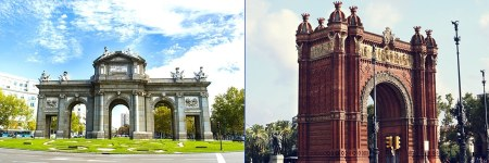 Arco - Madrid vs Barcelona