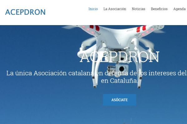 acepdron. Asociaciones de usuarios de drones de cataluña