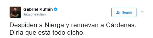 Javier Cárdenas pone en su sitio a Gabriel Rufián en 2 minutos.