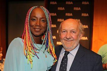 Lucrecia y Ricardo Rodrigo Amar en RBA