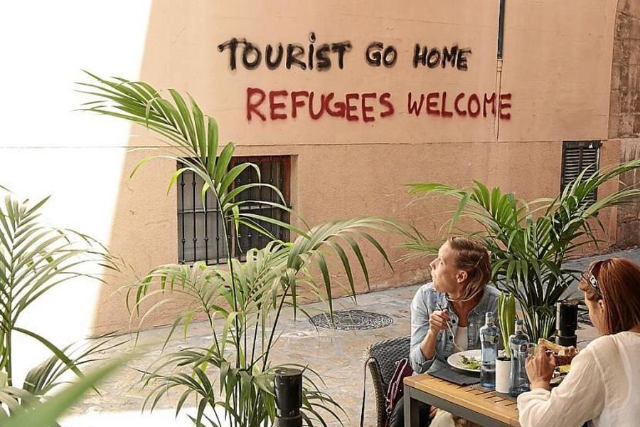 ¿La extrema izquierda tiene turismofobia?