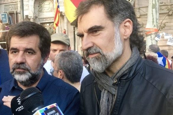 ¿Crees que Jordi Cuixart y Jordi Sánchez son presos políticos?