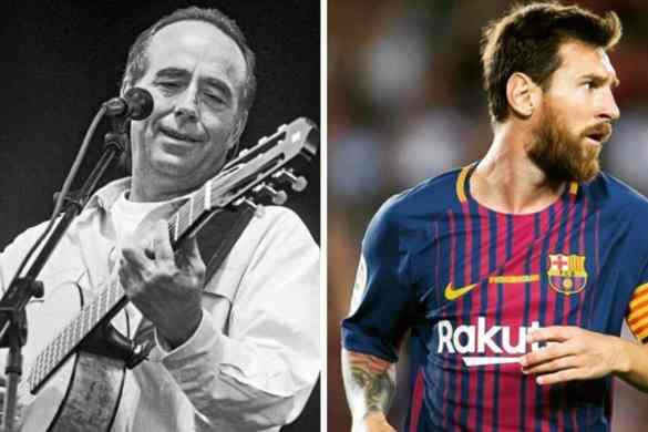 Carta de Serrat a Messi