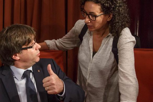 ERC no le gusta nada el protagonismo de Puigdemont