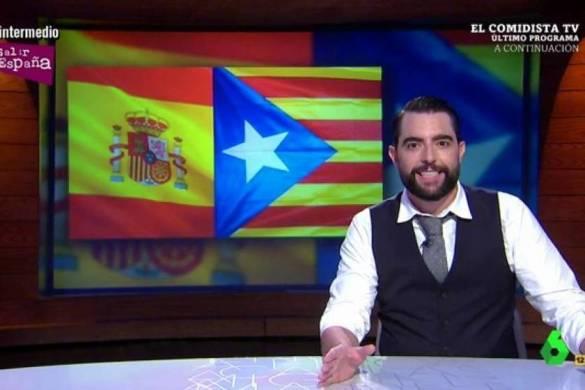 Dani Mateo, colaborador de 'El intermedio', critica al independentismo
