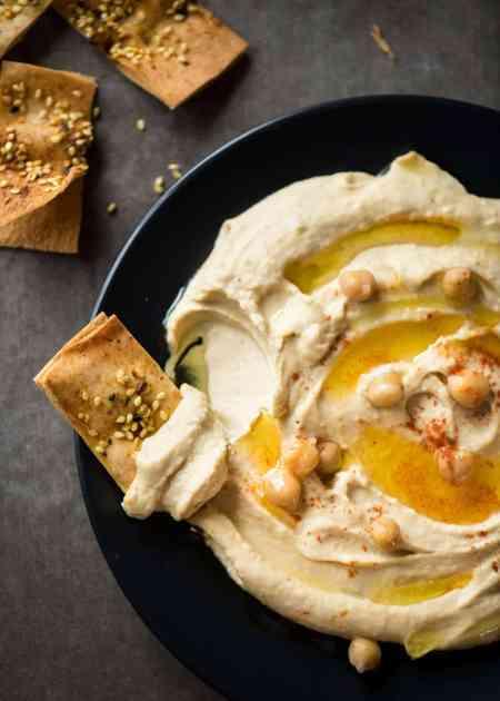 Hummus, un plato cada vez más popular en nuestra cocina.