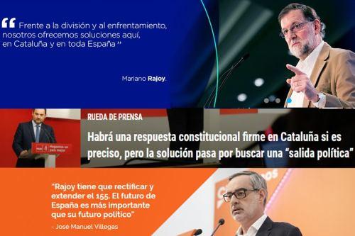 ¿Se debe suprimir, mantener o endurecer o suprimir el 155 en Cataluña?