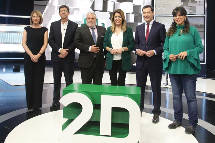 ¿Quién crees que ha ganado el 1er. debate de las elecciones en Andalucia?