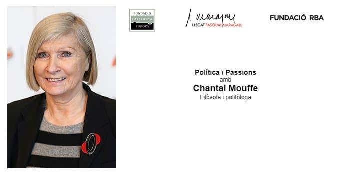 undación RBA. Chantal Mouffe. Política y pasiones