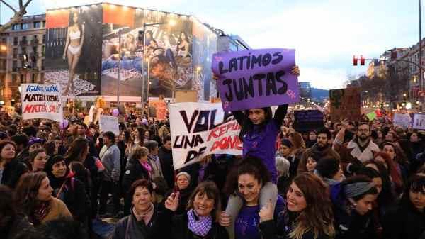 ¿La izquierda se ha intentado apoderar de la defensa de la mujer en España-1