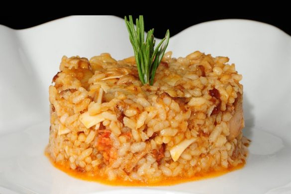 Arroz con oreja y morro, un plato perfecto para el invierno.