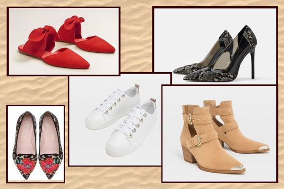 Las 6 tendencias en calzado para la primavera verano 2019