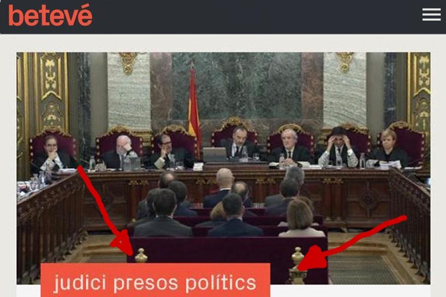 """Alberto Fernández: """"Betevé es la TV de Barcelona, no la de Colau y Torra'"""