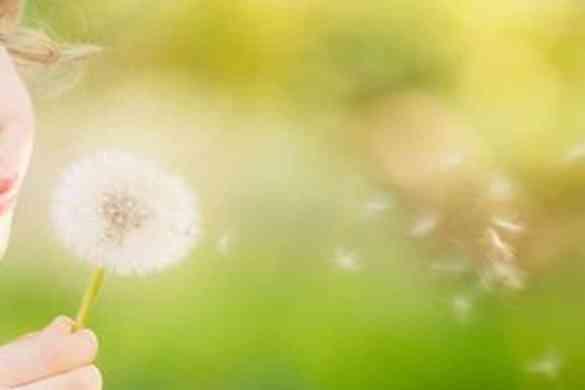 La alergia primavera y los niños