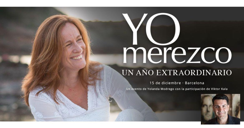 Yo Merezco un año extraordinario. Yolanda Modrego