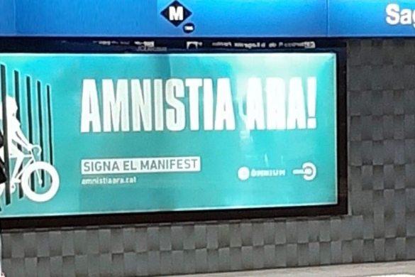 Oscar Ramírez reclama a Colau y TMB la retirada de la publicidad de Ómnium