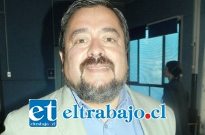 Jefe de la Oficina Provincial de la Seremi de Salud Aconcagua, Dr. Mario Méndez.