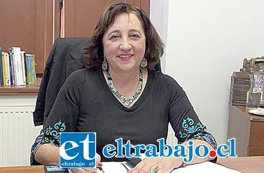 María Victoria Rodríguez, Gobernadora provincial, podría transformarse en la carta de la Nueva Mayoría para la elección de alcalde en Los Andes.